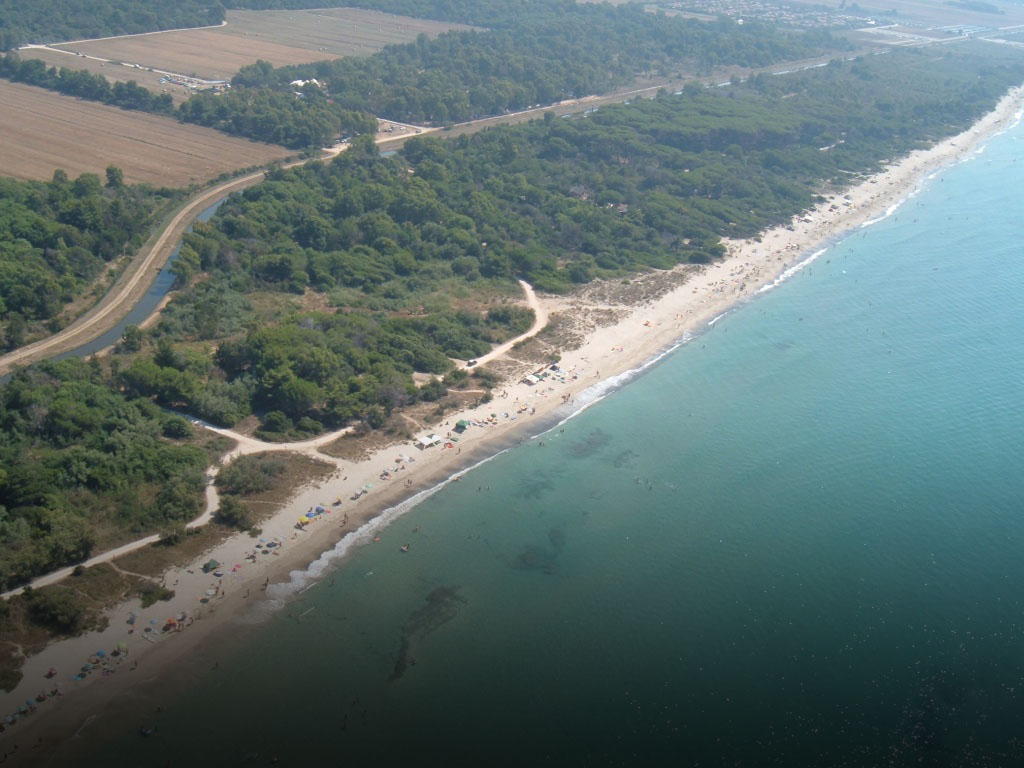 The Coastal Park of Sterpaia